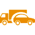 vehicle-truck-car-orange-icon